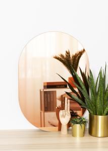 KAILA Spiegel Oval Rose Gold 50x70 cm
