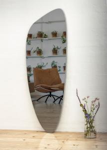 Spiegel Slim Warm Grey 160x57 cm