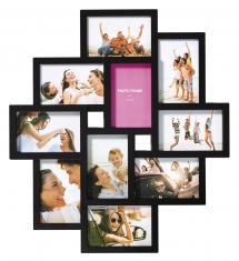 Timeless Collage-Rahmen Schwarz - 10 Bilder