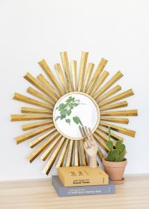 Spiegel Selin Gold 81 cm Ø