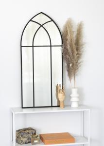 KAILA Spiegel Window - Schwarz 45x100 cm