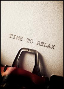 Time to Relax Poster