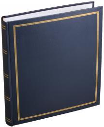 Diamant Fotoalbum Blau 27,5x32 cm (100 weiße Seiten / 50 Blatt)