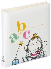 Kinderalbum Fee Schule - 28x30,5 cm (50 weiße Seiten / 25 Blatt)