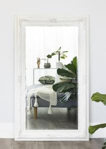 Spiegel Palermo Weiß 66x126 cm