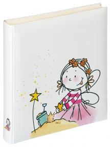 Kinderalbum Fee Kindergarten - 28x30,5 cm (50 weiße Seiten / 25 Blatt)