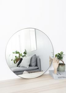 Spiegel Antik-Messing 70 cm ø