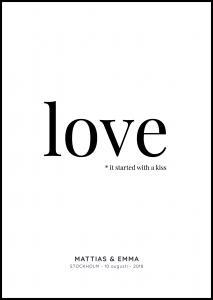 Love - White