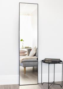Spiegel Narrow Schwarz 40x170 cm