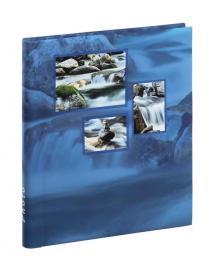 Singo Album selbstklebend Blau (20 weiße Seiten / 10 Blatt)