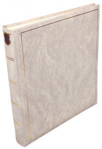 Henzo Basic Line Fotoalbum Weiß - 28x30 cm (70 weiße Seiten / 35 Blatt)