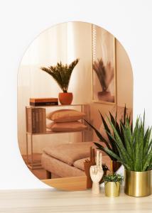 KAILA Spiegel Oval Rose Gold 70x100 cm