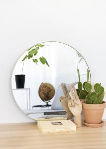 Spiegel Vendela Messing 50 cm Ø