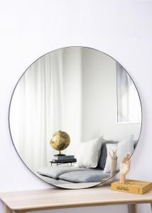 Spiegel Schwarz 110 cm ø