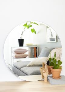 KAILA Runder Spiegel Deluxe 80 cm Ø