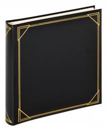 Kvadrat Schwarz - 30x30 cm (100 weiße Seiten / 50 Blatt)