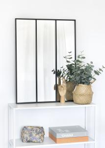KAILA Spiegel Sections - Schwarz 60x80 cm