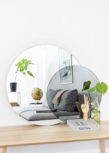 Spiegel Clear & Warm Grey 80x100 cm