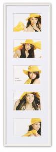 New Lifestyle Collage-Rahmen Weiß - 5 Bilder (10x15 cm)