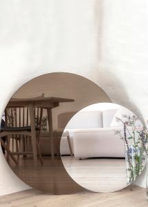 Spiegel Dark Bronze & Clear 80x100 cm