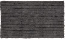 Badematte Stripe - Aschgrau 60x100 cm