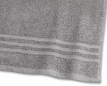 Handtuch Basic Frottee - Grau 50x70 cm