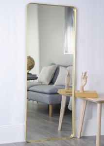 Spiegel Messing 60x152 cm