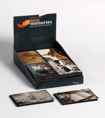 Mini Memories Album Travel 6 Varianten - 40 Bilder 10x15 cm - 36-pack