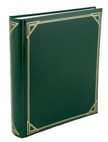 Henzo Promo Album Grün - 29x33 cm (100 weiße Seiten / 50 Blatt)