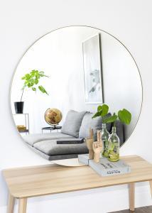Spiegel Vendela Messing 110 cm Ø