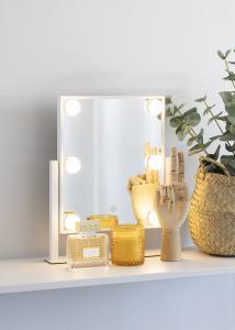 KAILA Kosmetikspiegel VII Weiß - 30x36 cm