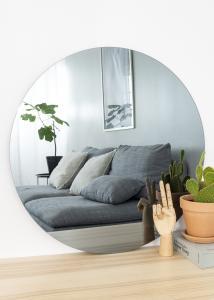 KAILA Runder Spiegel Smoked Grey 70 cm Ø