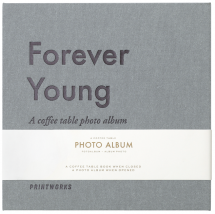 Forever Young (S) - A Coffee Table Photo Album (60 schwarze Seiten)