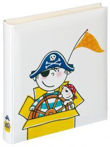 Kinderalbum Pirat Kindergarten - 28x30,5 cm (50 weiße Seiten / 25 Blatt)
