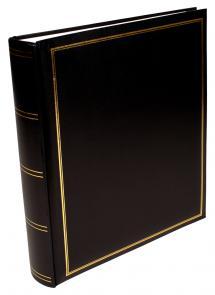 Exclusive Line Maxi Album Schwarz 30x33 cm (100 weiße Seiten / 50 Blatt)