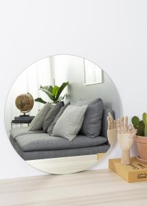 KAILA - Runder Spiegel 60 cm Ø
