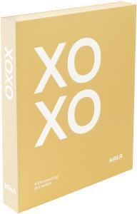 KAILA XOXO Yellow - Coffee Table Photo Album (60 Svarta Sidor / 30 Blad)