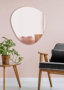 Spiegel Shape Rose Gold 68x70 cm