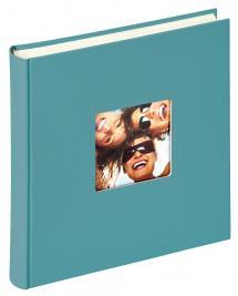 Fun Album Türkis - 30x30 cm (100 weiße Seiten / 50 Blatt)