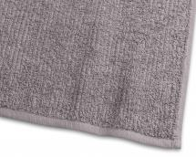 Handtuch Stripe Frottee - Grau 50x70 cm