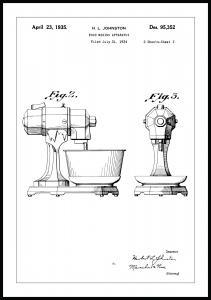 Patentzeichnung - Mixer II Poster