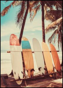 Surfboards Poster