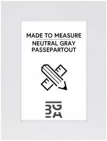 Passepartout Neutral Grey - Maßanfertigung