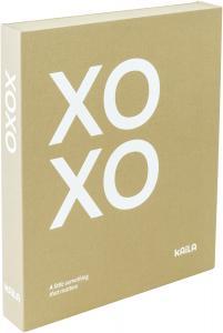 KAILA XOXO Vanilla - Coffee Table Photo Album (60 Svarta Sidor / 30 Blad)