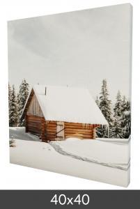 Leinwandbild 40x40 cm - 40 mm