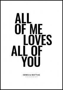 All of me - White