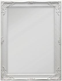 Spiegel Antique Weiß 50x70 cm