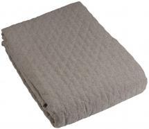 Bettüberwurf Paz Doppelbett 260x260 cm - Grau