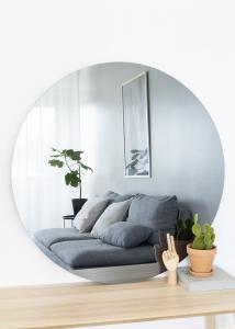 KAILA Runder Spiegel Smoked Grey 110 cm Ø