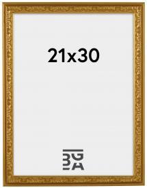 Rahmen Nostalgia Gold 21x30 cm